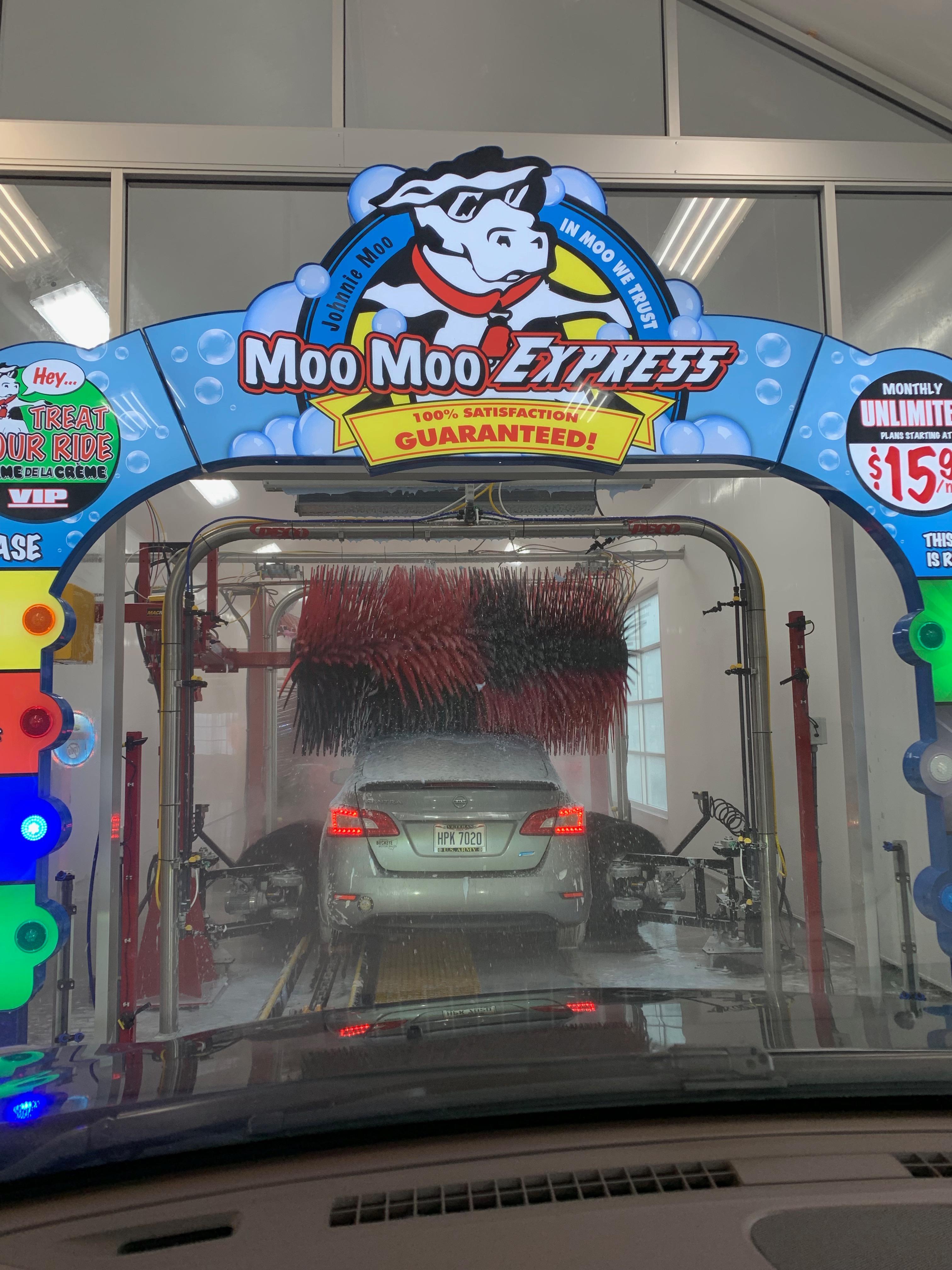 Moo Moo Express Car Wash (Northland)