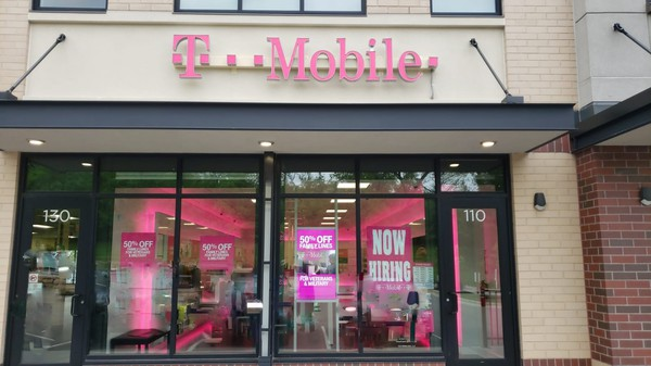 Exterior photo of T-Mobile Store at 45th St & 40th Ave, Fargo, ND