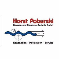 Logo von Horst Poburski Wasser- und Abwasser-Technik GmbH