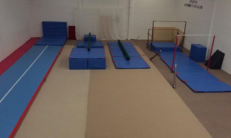 Sparta gymnastics club st louis primary school williams for Indian gymnastics floor music