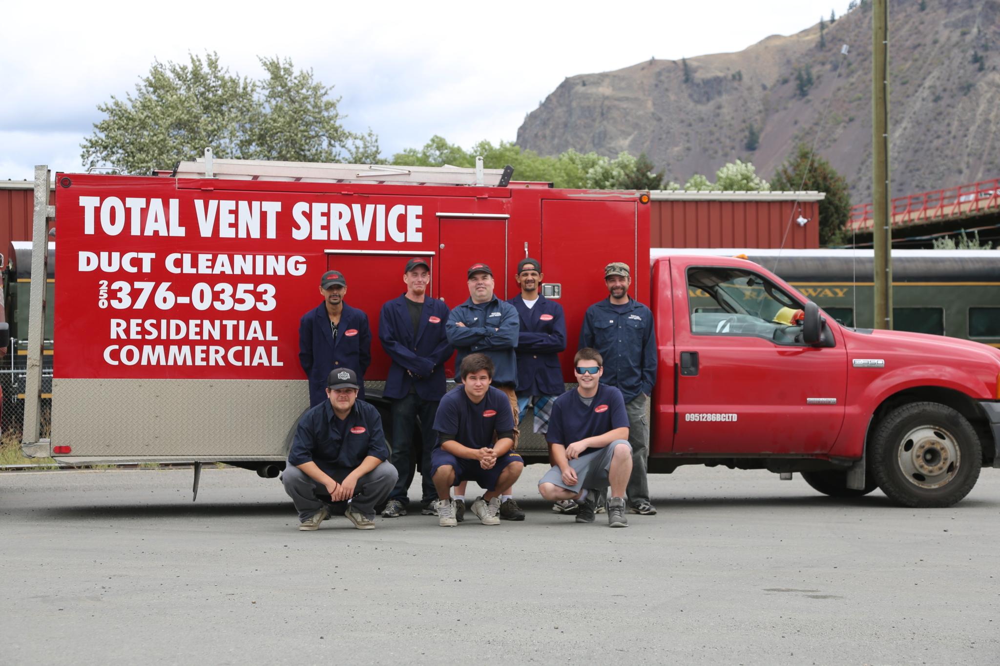 Total Vent Service in Kamloops
