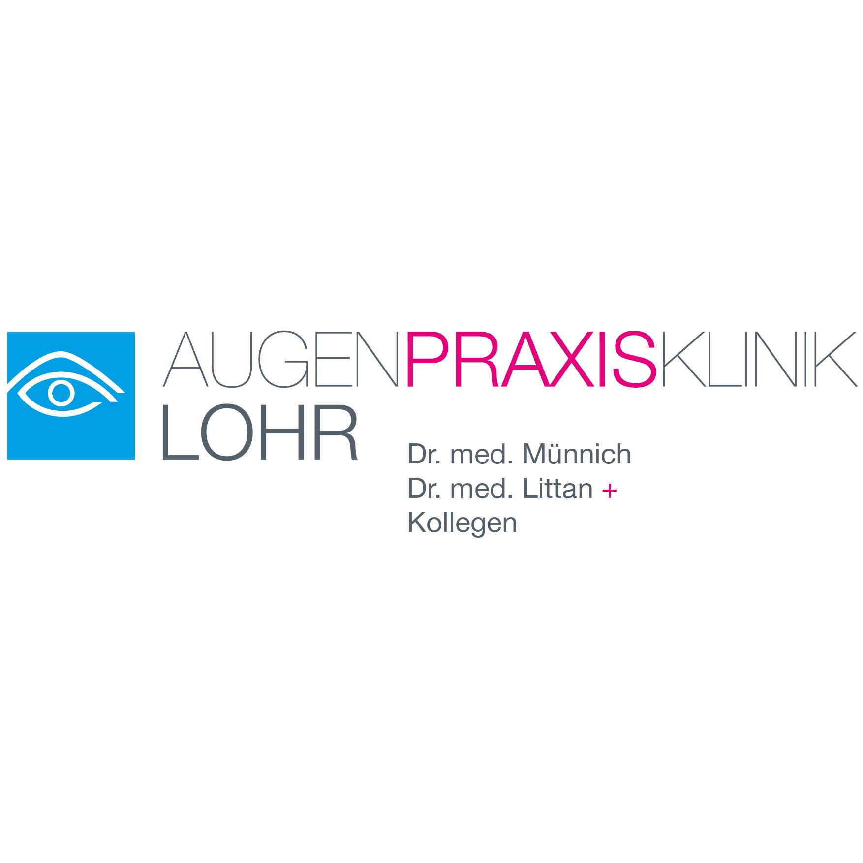 Logo von Augenpraxisklinik Lohr Dres. Münnich, Littan und Kollegen