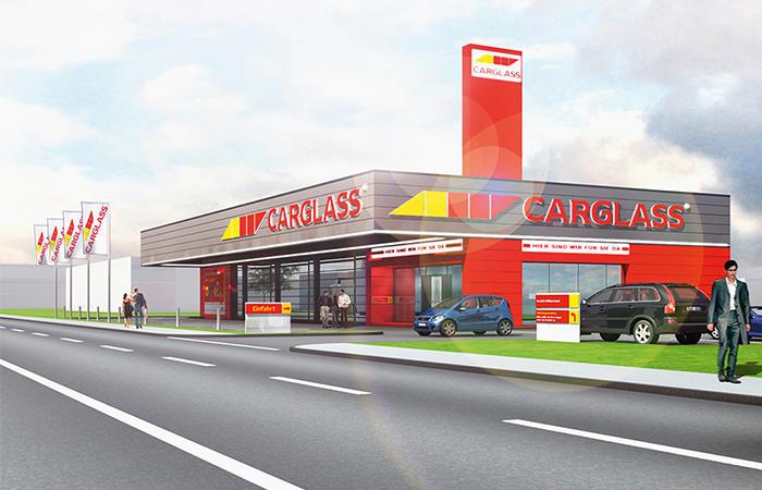 Bild der Carglass GmbH Augsburg (Oberhausen)