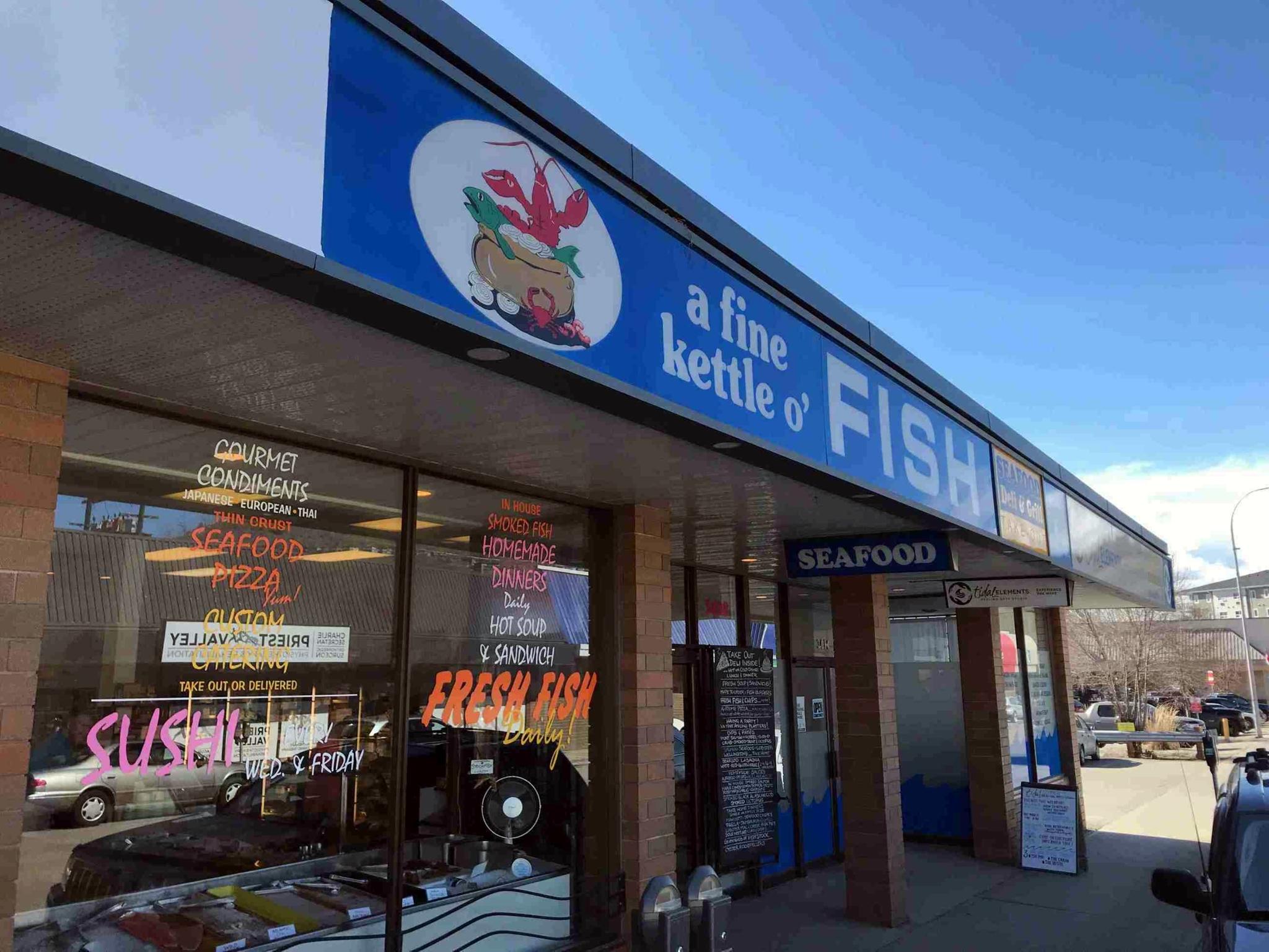 A Fine Kettle O' Fish in Vernon