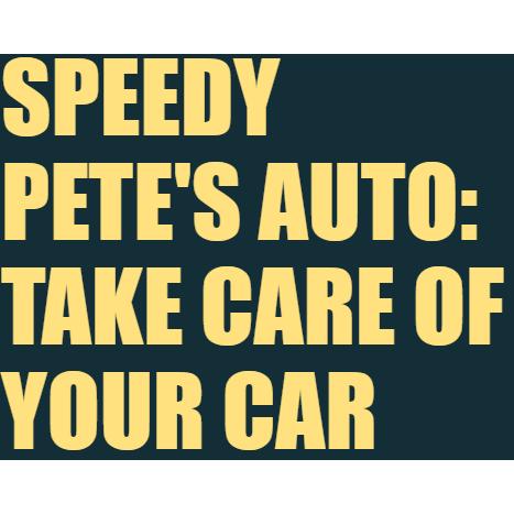 Speedy Pete's Auto