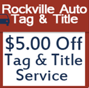 Rockville Tag And Title >> Rockville Auto Tag Title 1026 Rockville Pike Rockville Md
