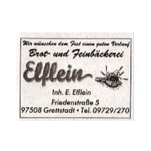 Logo von Bäckerei Elflein