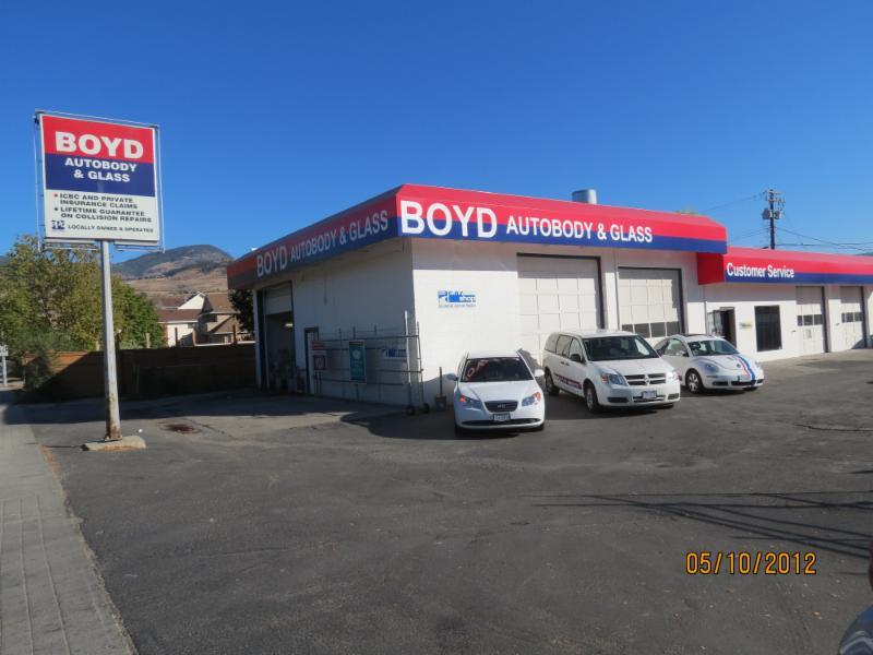 Boyd Autobody & Glass in Kelowna