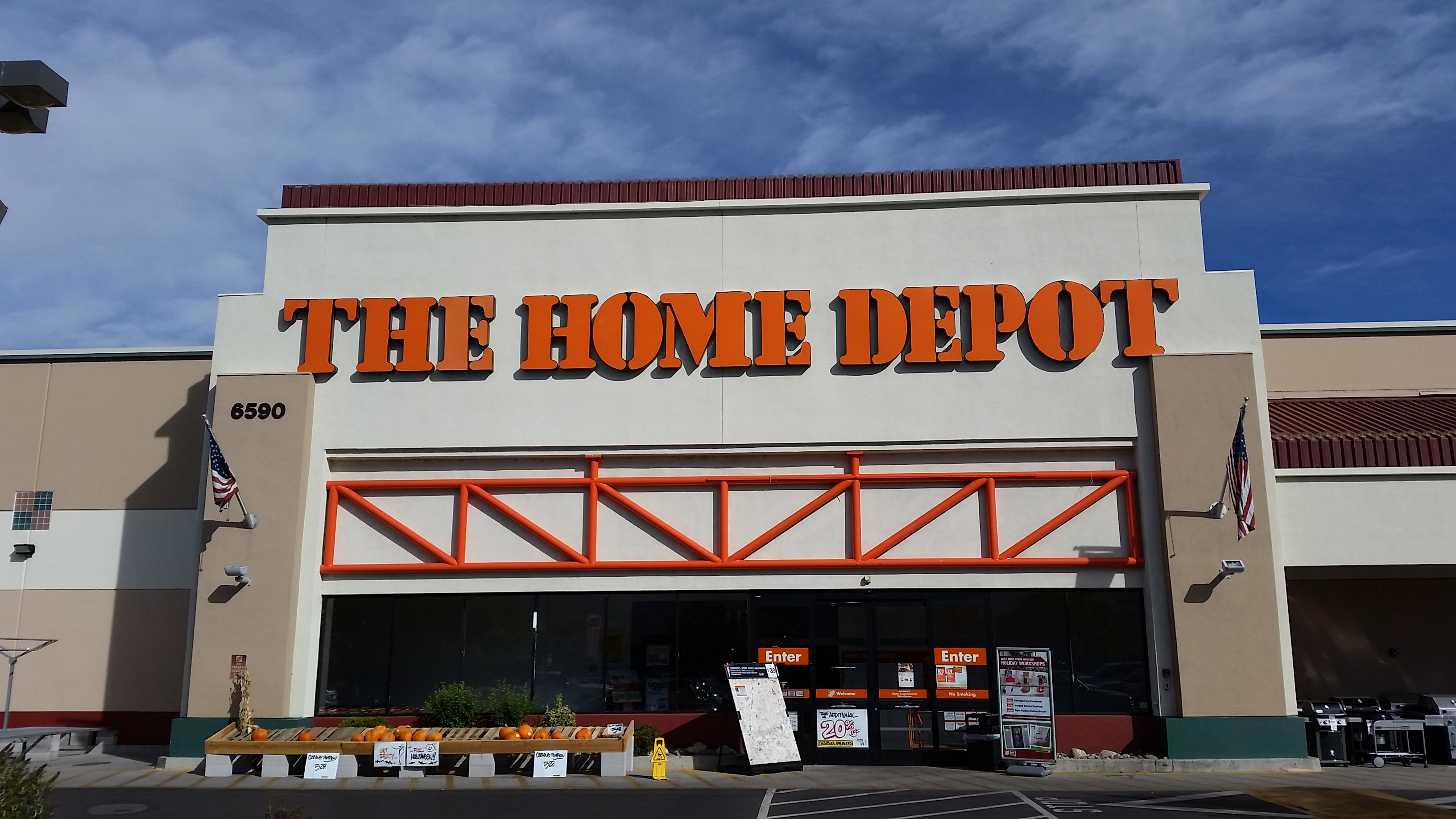 the home depot construction supplies services
