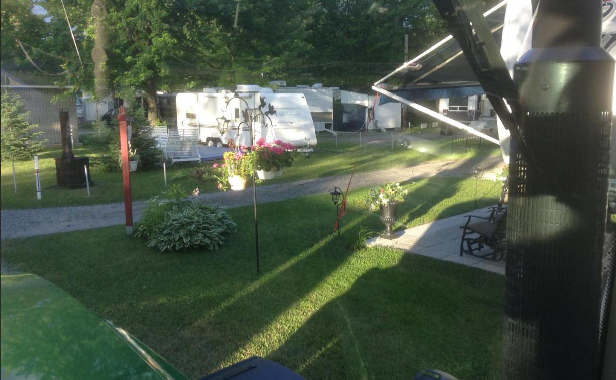 Camping Au Vieux Foyer à Saint-Pie