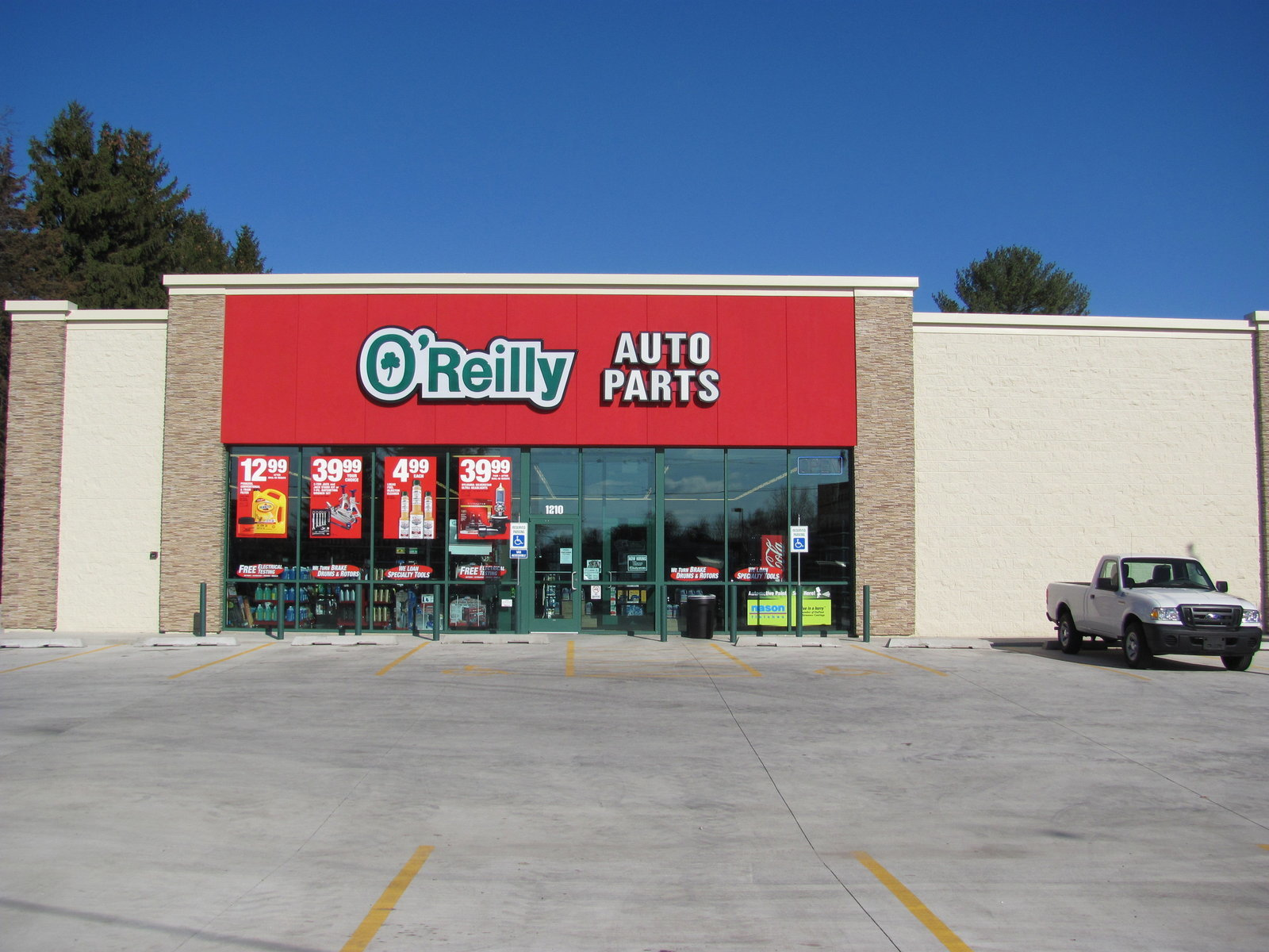 Check out a variety of auto parts, supplies, and accessories for cars, trucks, and SUVs, as well as boats, trailers, ATVs, and lawn and garden equipment. Find an O'Reilly Auto Parts store near you, learn about store services, and view our current ad, coupons, and promotions. Get free shipping on orders $+ and free in-store pickup for online orders.