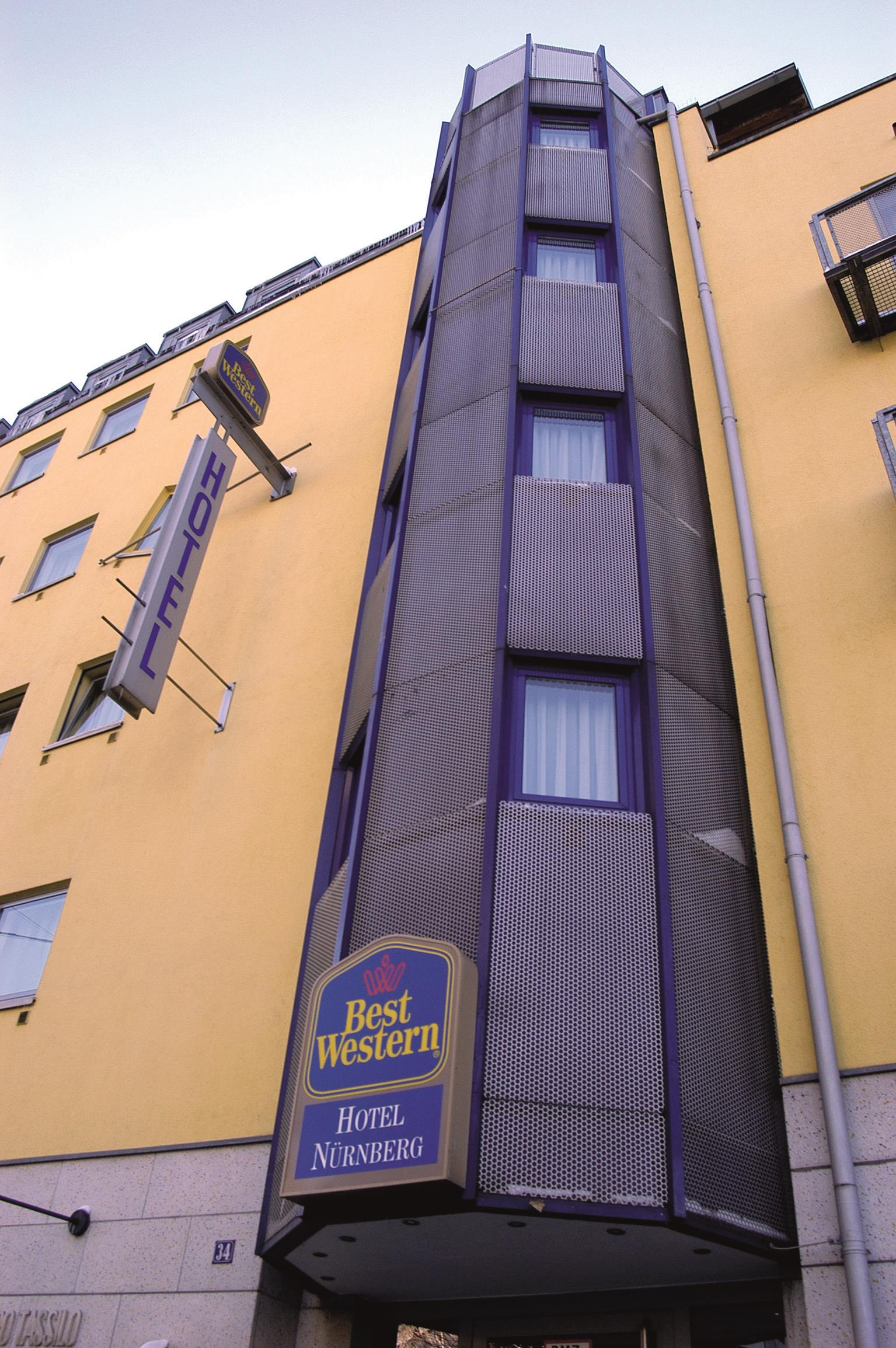 best western hotel nuernberg am hauptbahnhof in n rnberg ffnungszeiten adresse. Black Bedroom Furniture Sets. Home Design Ideas