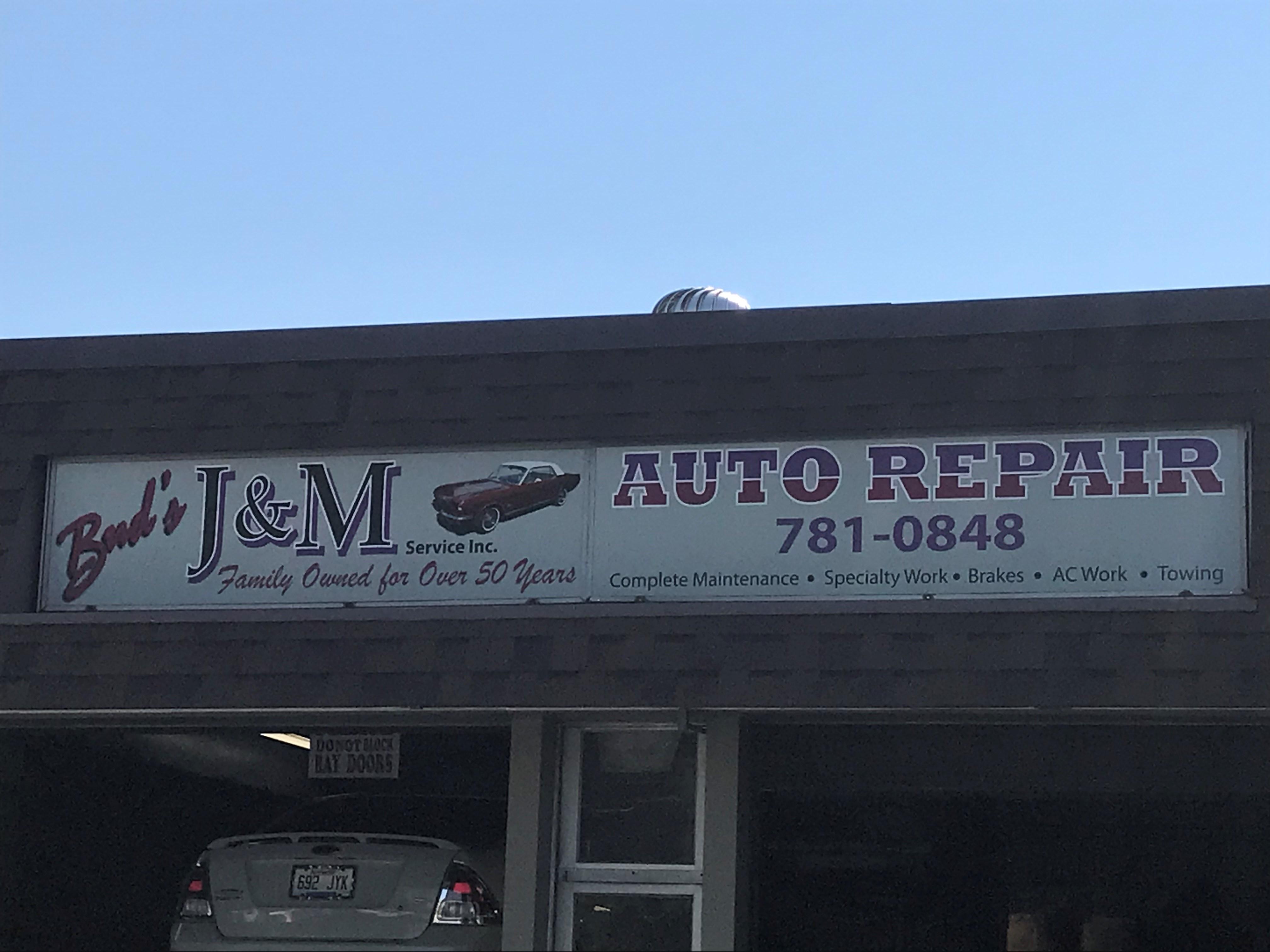 Bud's J & M Service