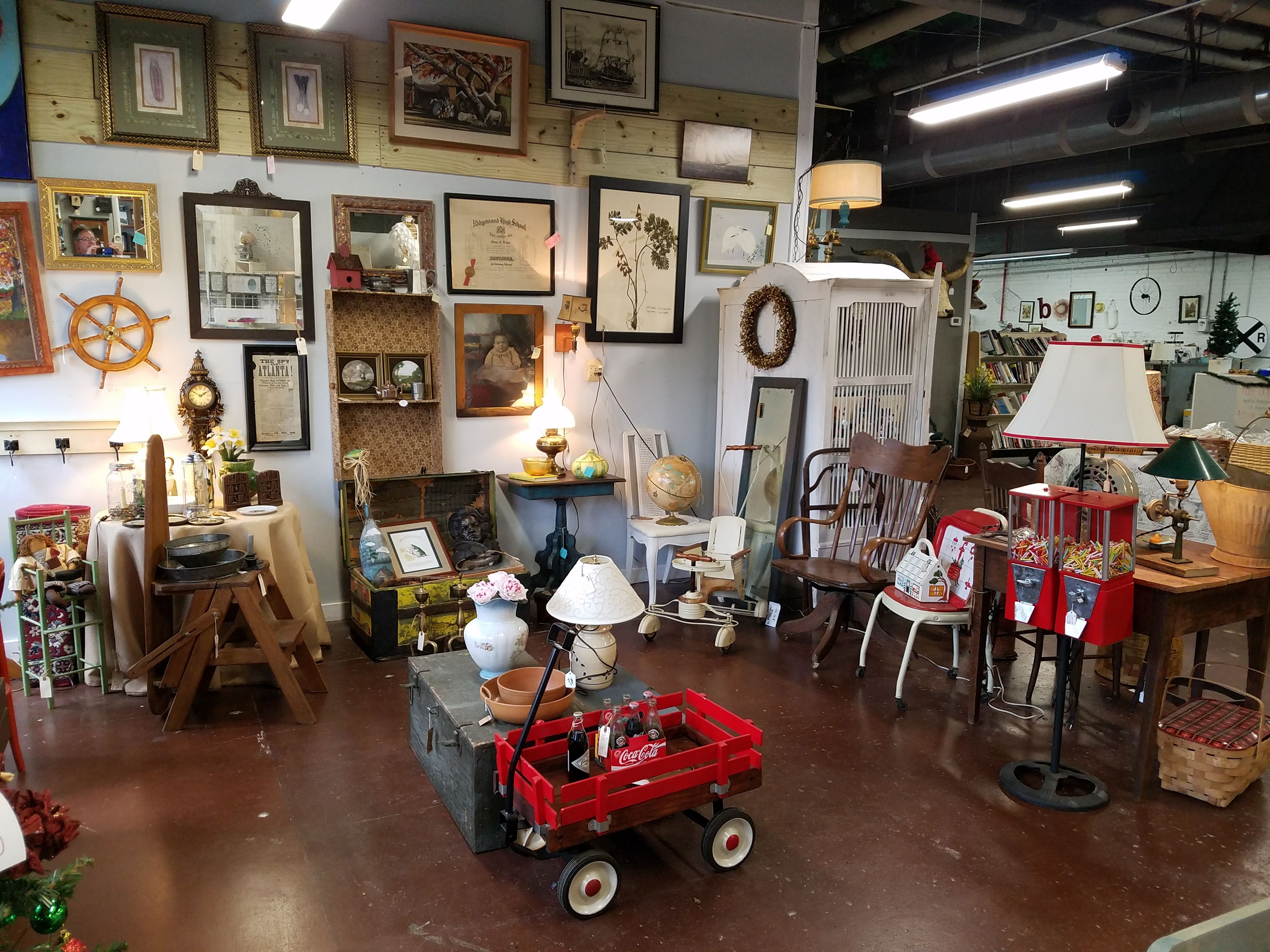 Antique Mall At The Old Clarkesville Mill