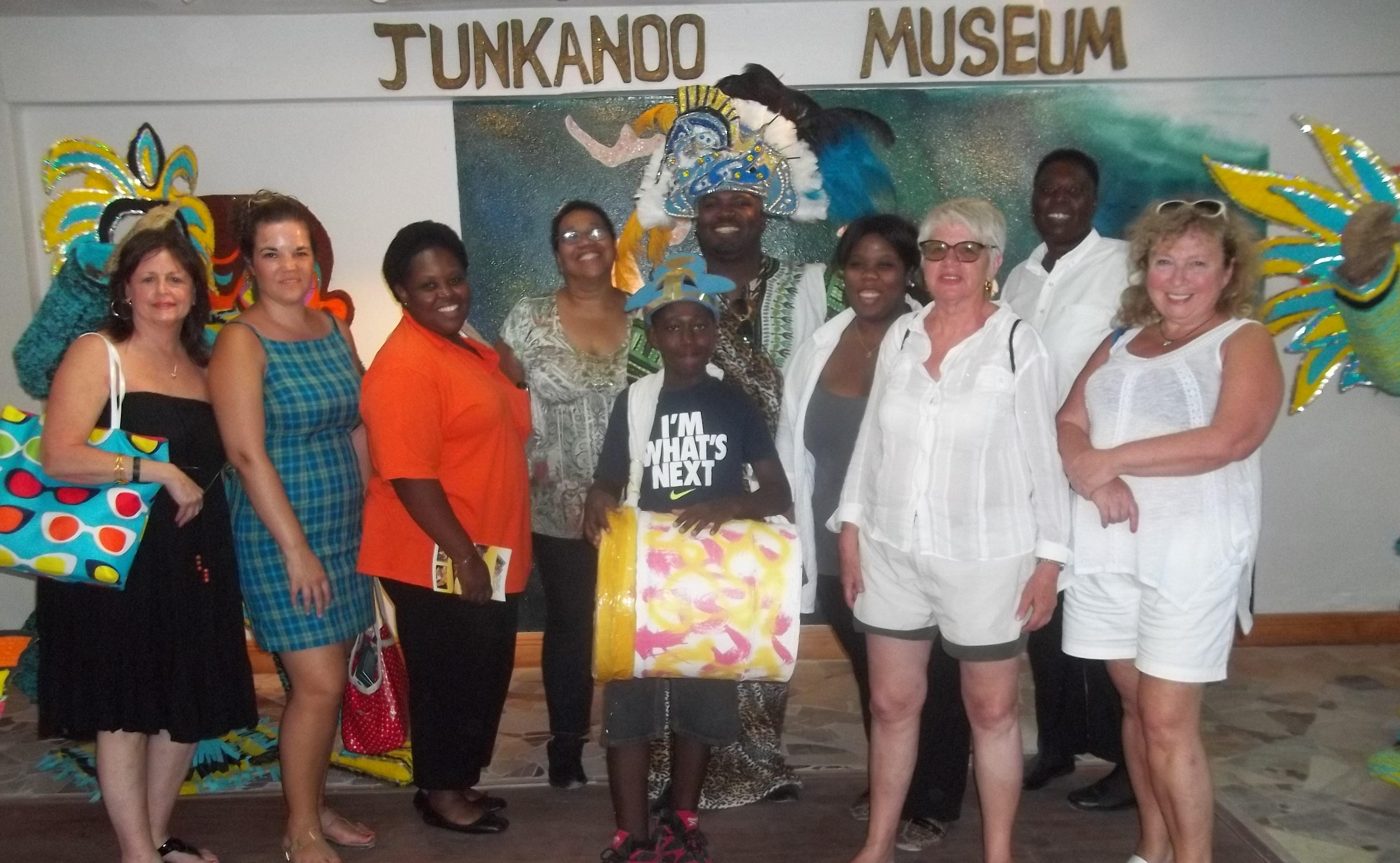 be sure to visit the Junkanoo Museum. interesting walk through the origins and history of this festival.