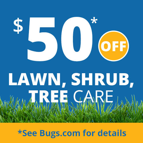 $50 Off Lawn, Shrub, Tree Care