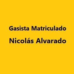 GASISTA MATRICULADO NICOLAS ALVARADO