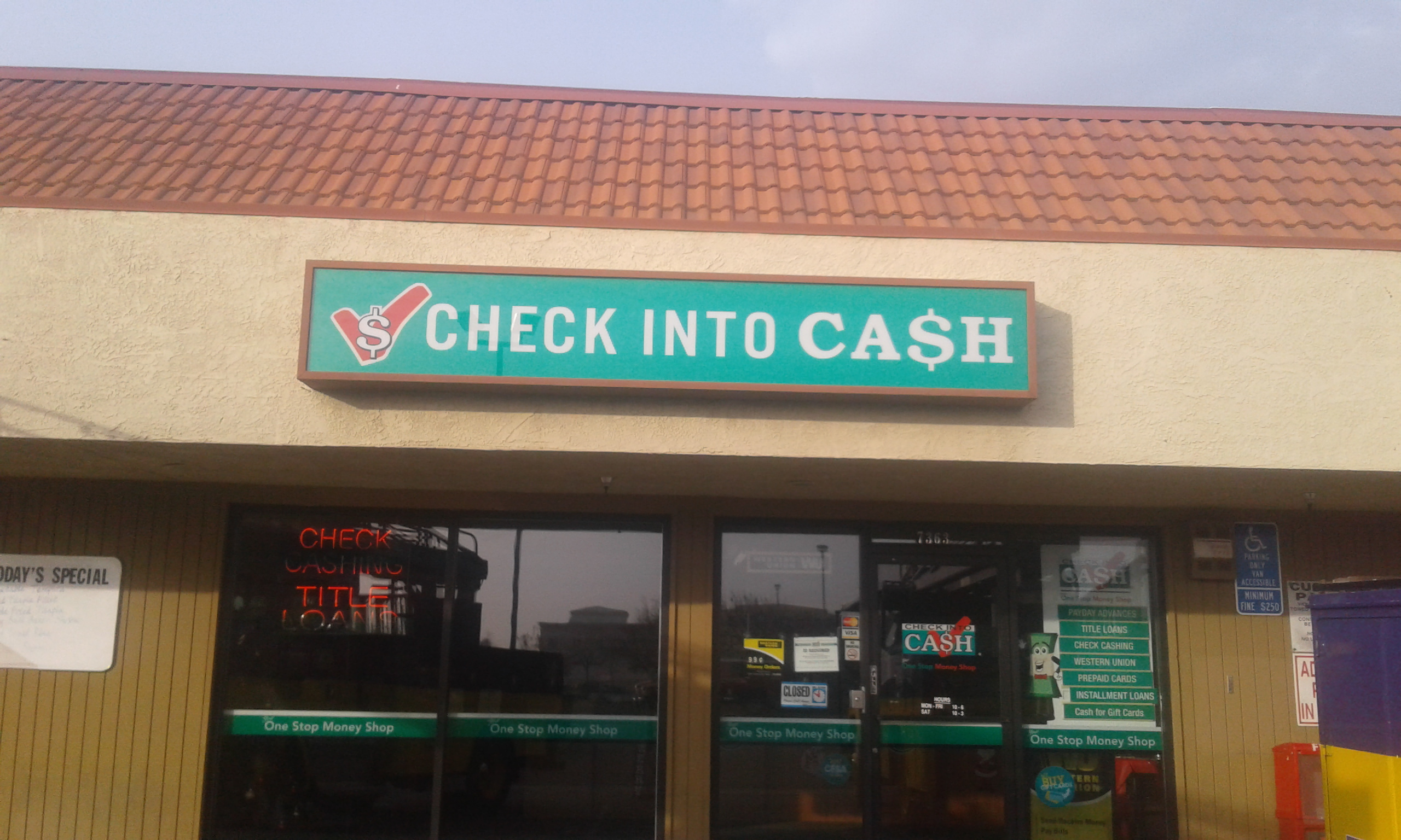 Check Into Cash image 0