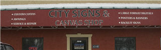 City Signs & Canvas Shop in Medicine Hat