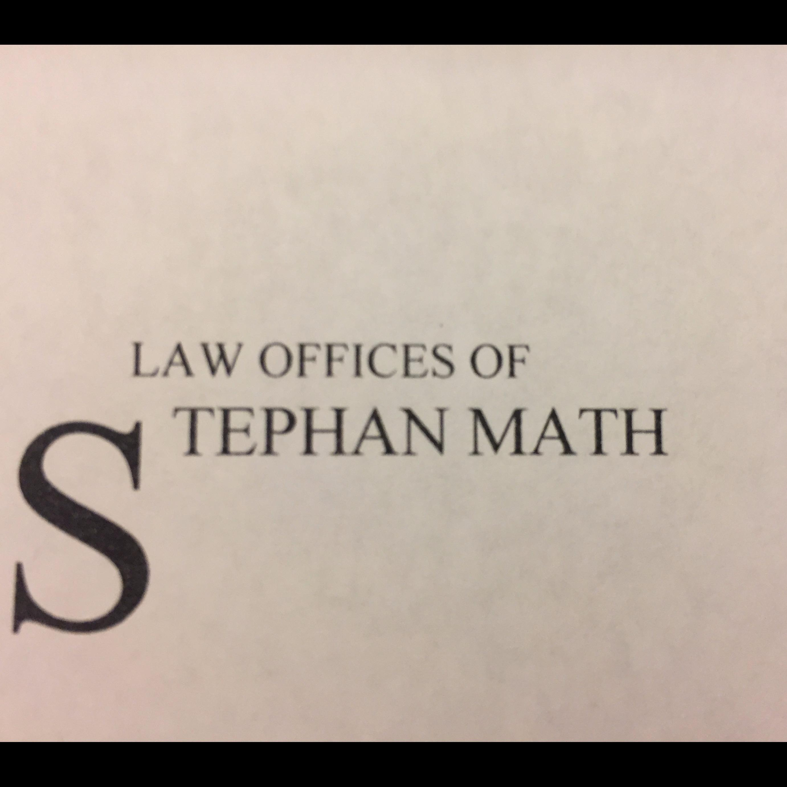 Law Offices of Stephan Math