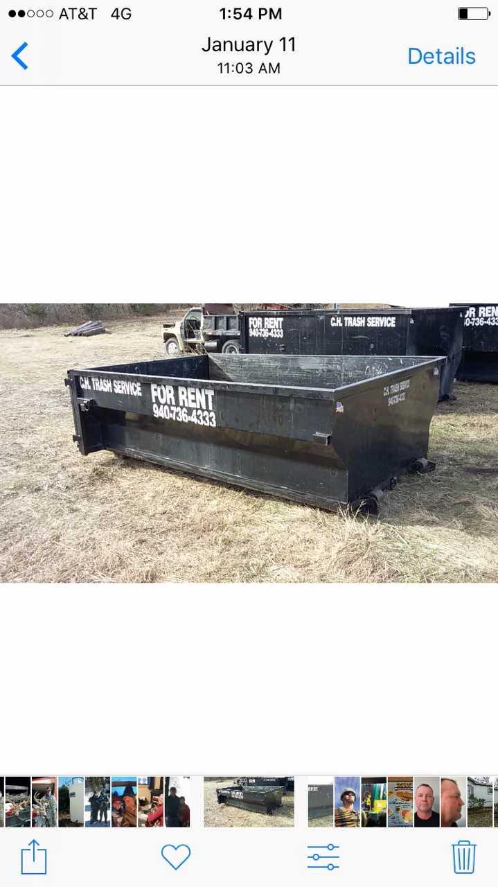 C.H. Trash Service - Dumpster Rental image 4