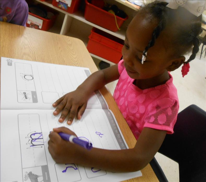 This is What Learning Looks Like: Building brain power when practicing letter writing in journals.