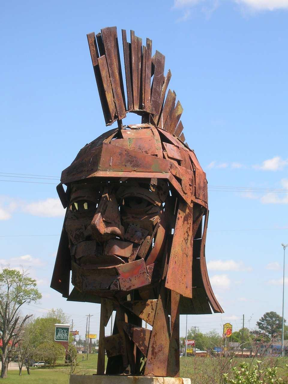 Sculpture in Troy