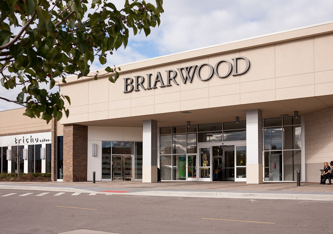 Briarwood Mall. Briarwood Mall, the area's largest shopping area, located at I and State Street, includes JC Penney, Macy's, Von Maur, and Sears department stores in addition to several restaurants and over specialty shops.