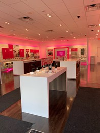 Interior photo of T-Mobile Store at Rt 140 & School St, Mansfield, MA
