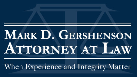 Mark D Gershenson Attorney at Law - ad image