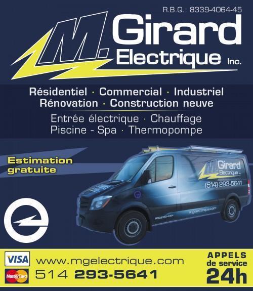 M Girard Electrique à Saint-Hubert