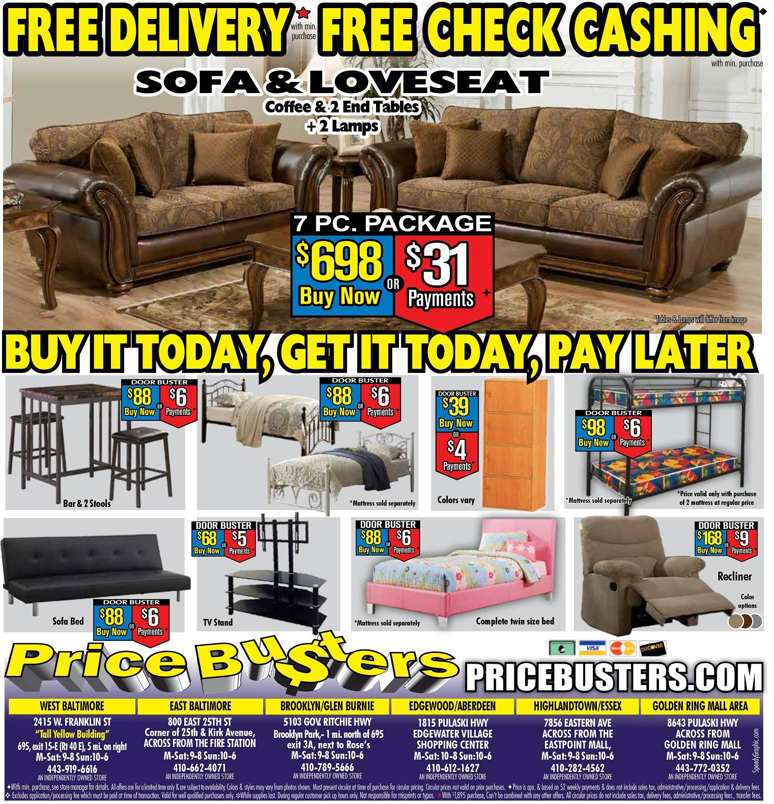 Price Busters Discount Furniture At 2101 University Boulevard East Hyattsville Md On Fave