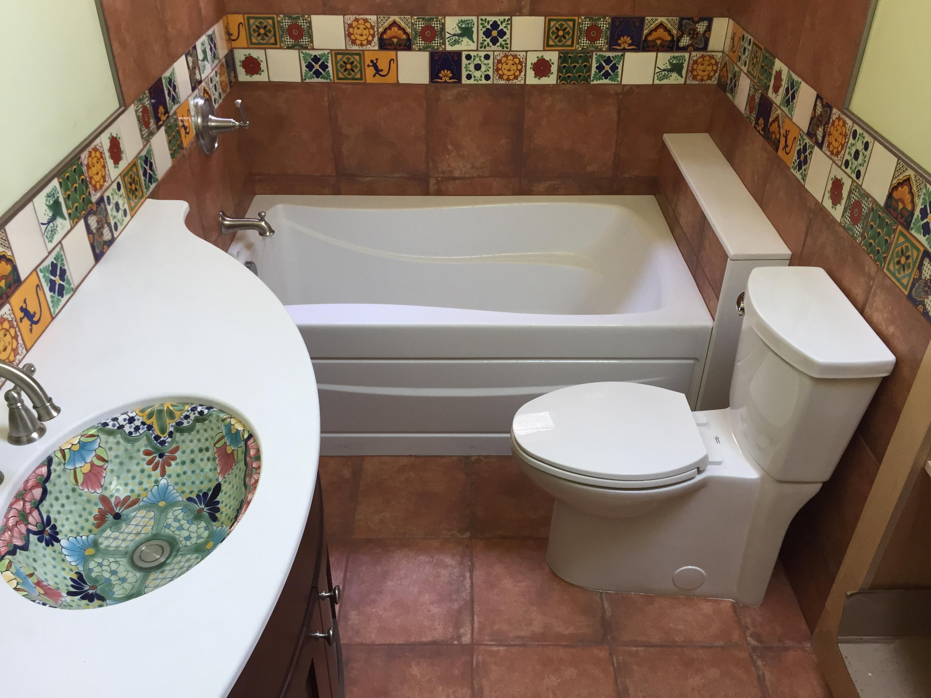 Finished plumbing for new home in Ithaca NY ( tile work by others)