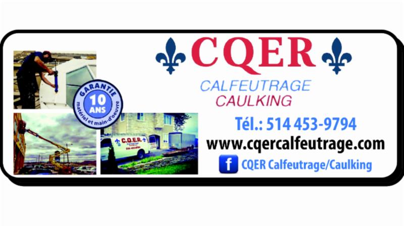 CQER Calfeutrage à Pointe-des-Cascades