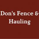 Don's Fence & Hauling image 1