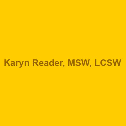 Karyn Reader, Msw, Lcsw
