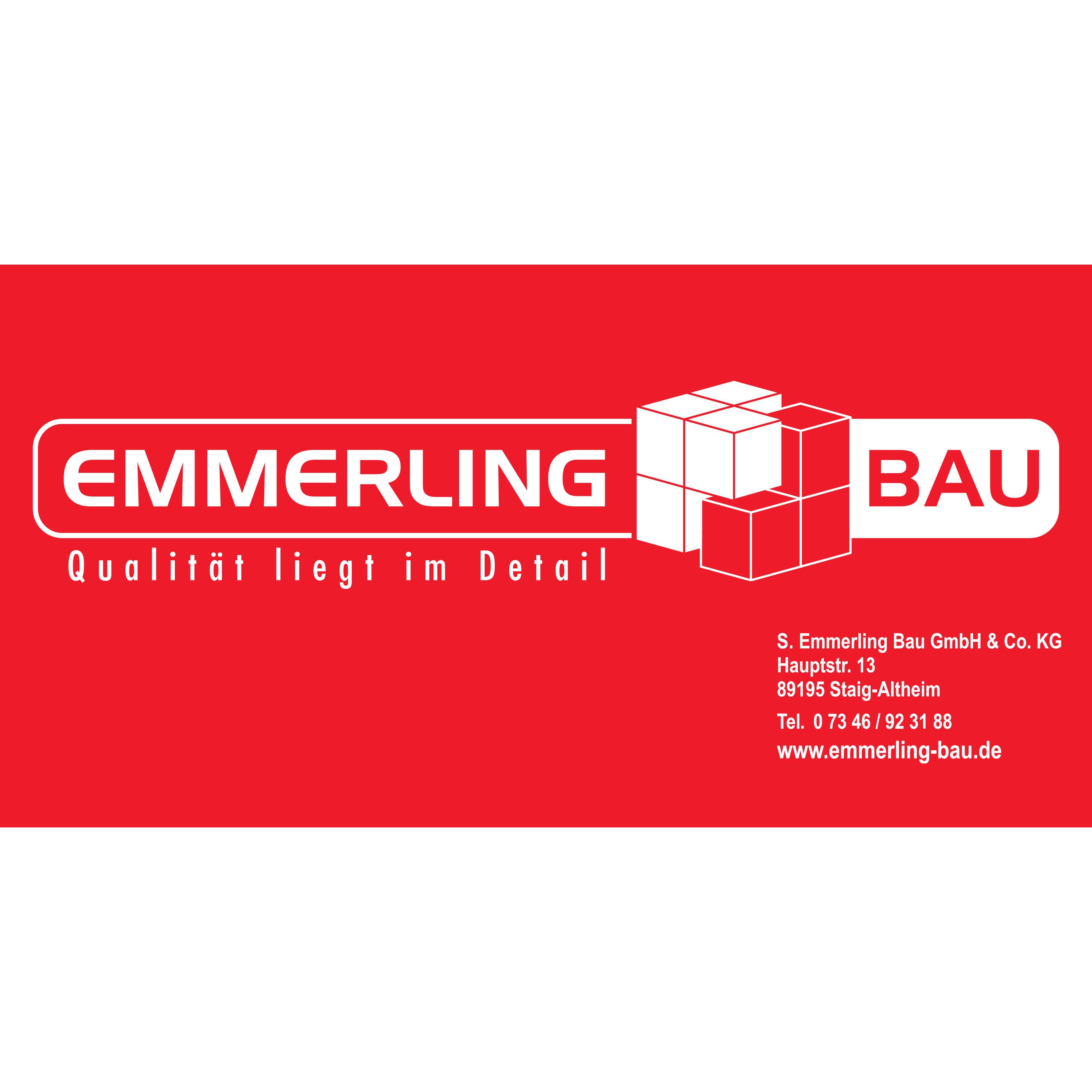 Logo von Emmerling S. Bau GmbH & Co. KG