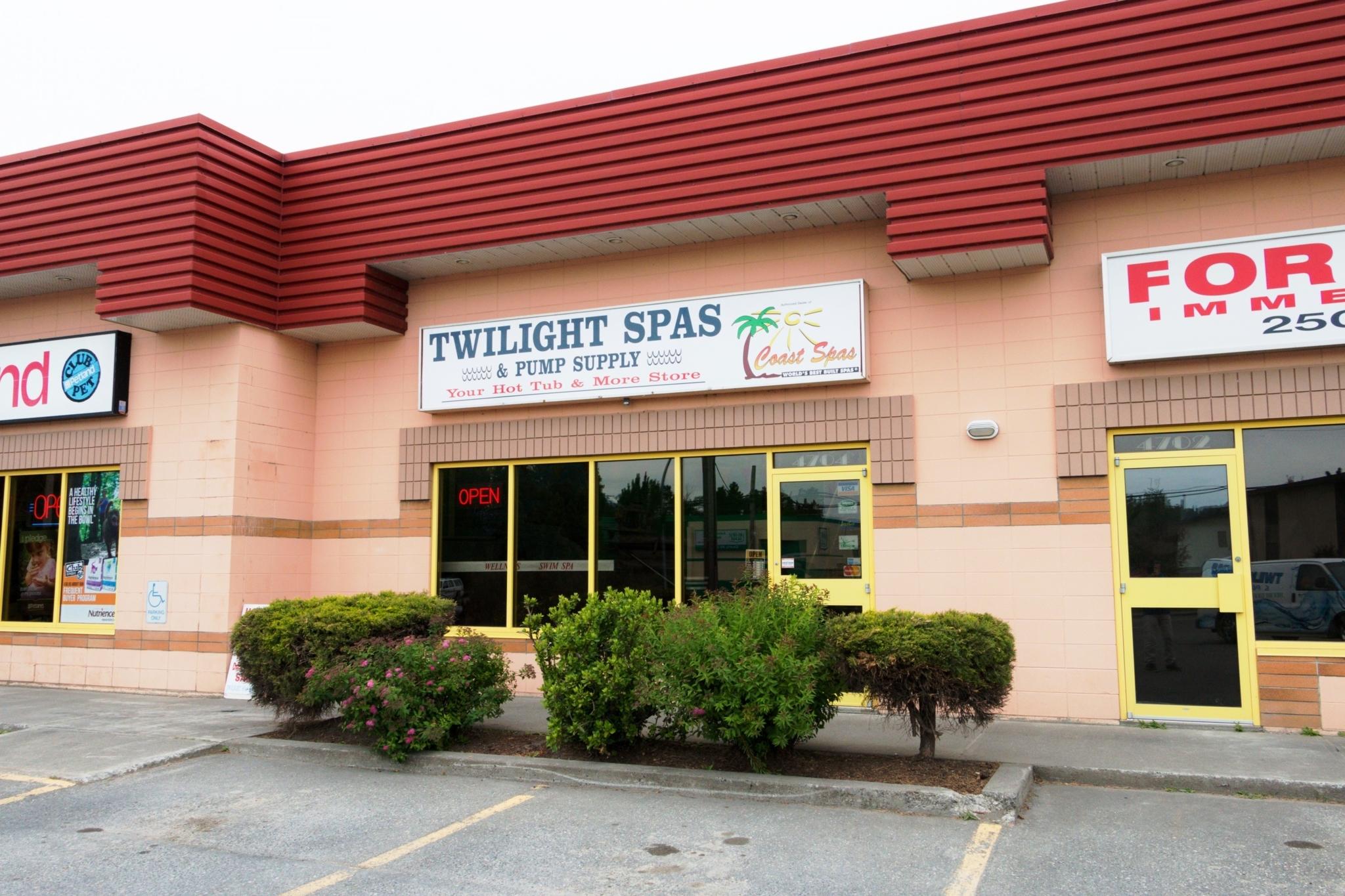 Twilight Spas & Pump Supply in Terrace