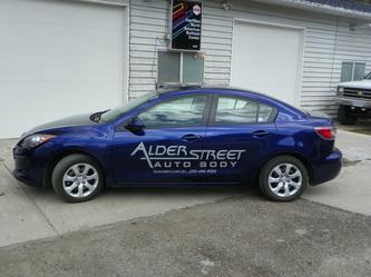 Alder Street Autobody in Summerland
