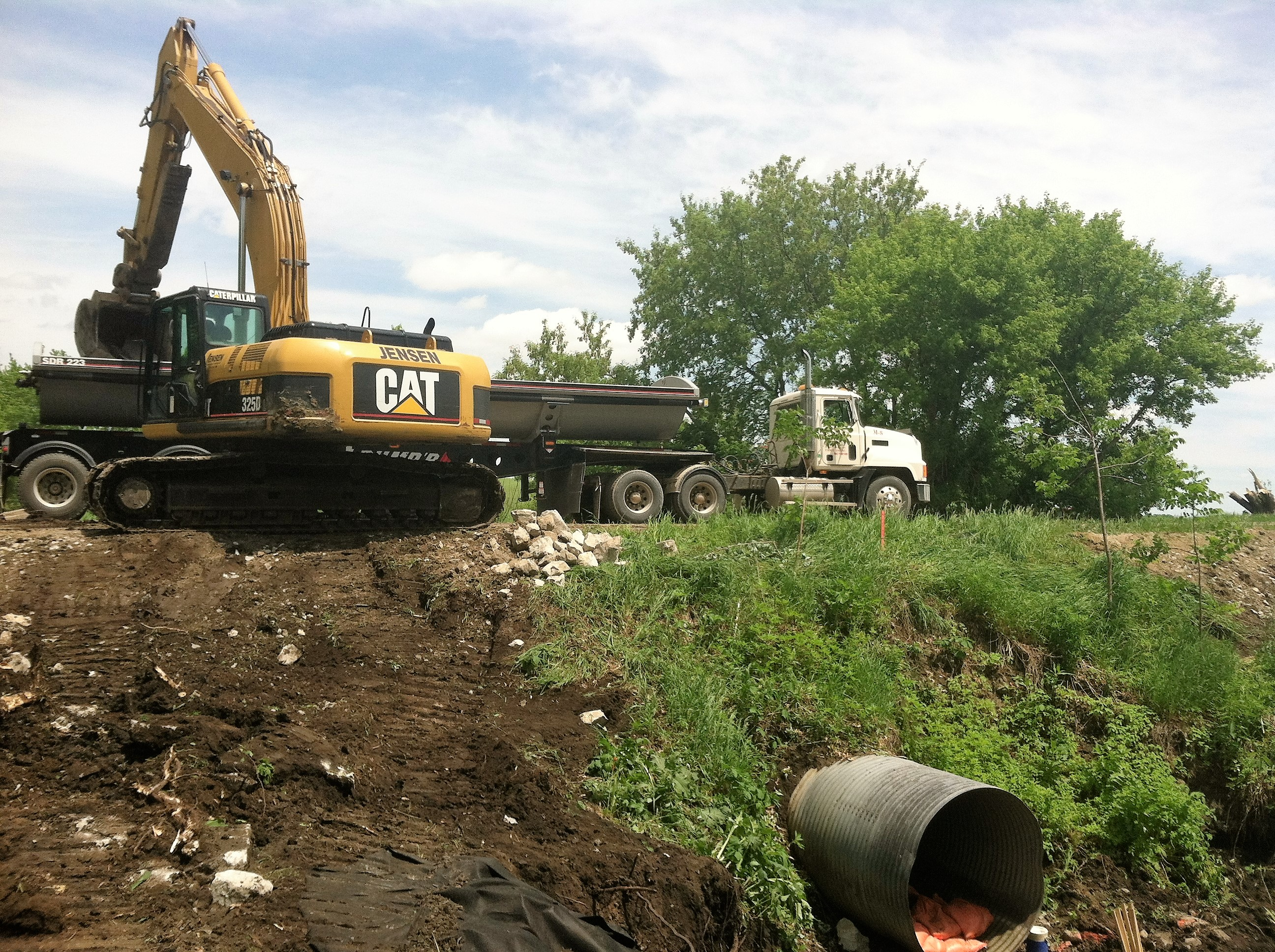 Jensen Excavating And Trucking LLC image 2
