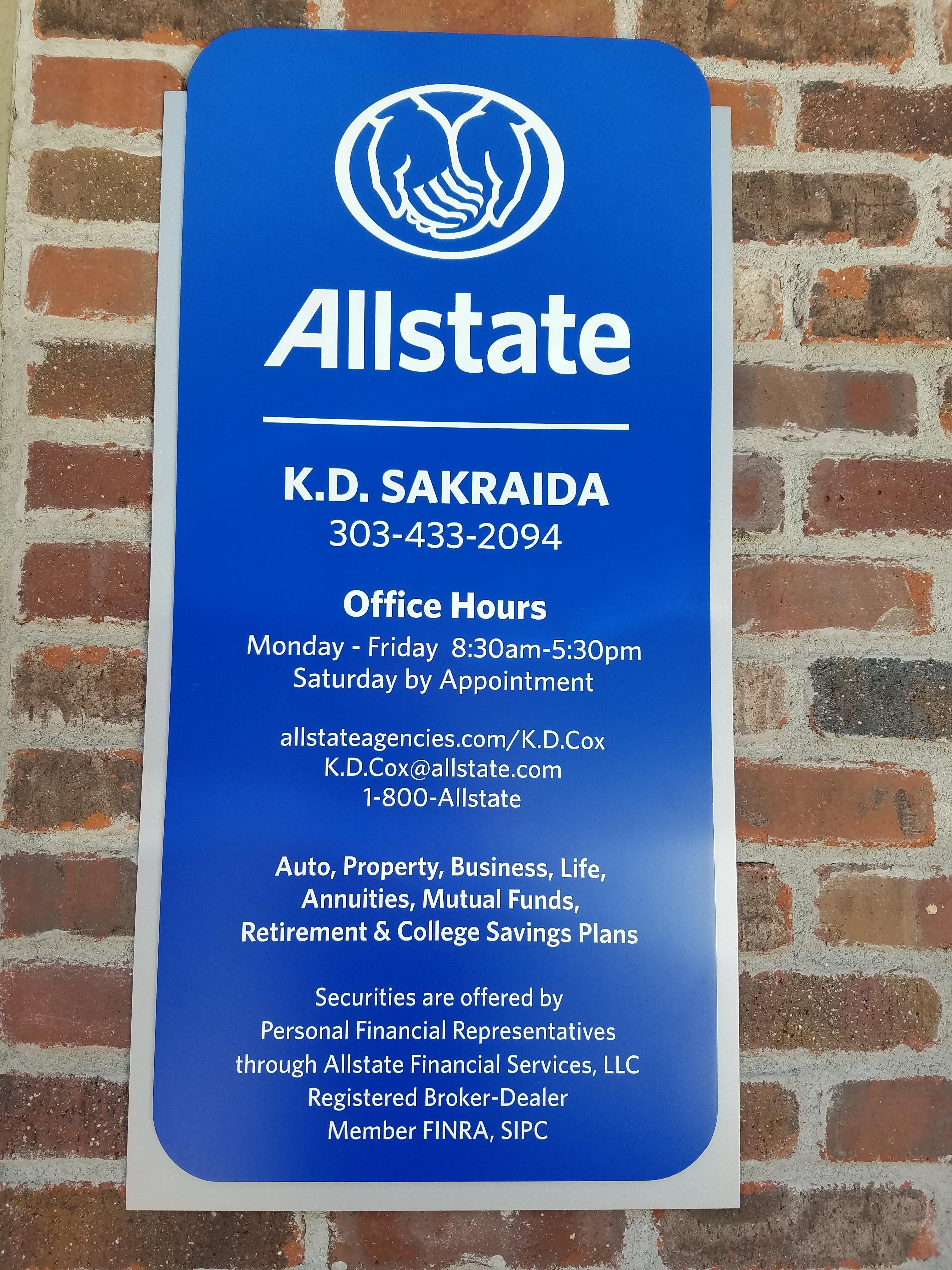 K.D. Sakraida: Allstate Insurance