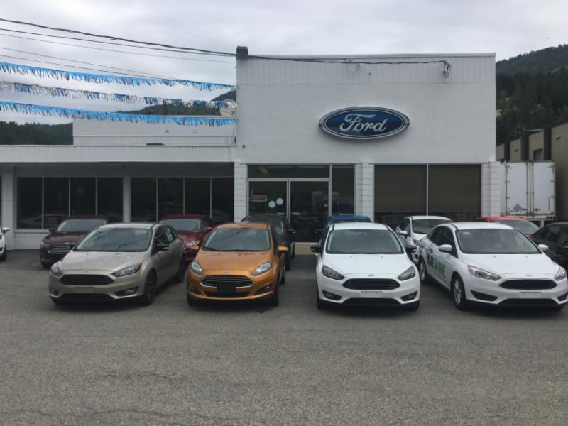 A M Ford (Sales) Ltd in Trail