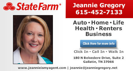 State Farm Jeannie Gregory In 180 N Belvedere Dr Suite 2 Gallatin Tn 37066