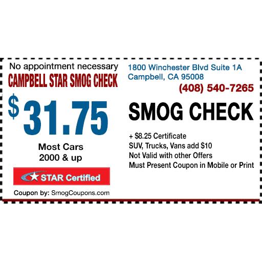 Campbell Star Smog Check
