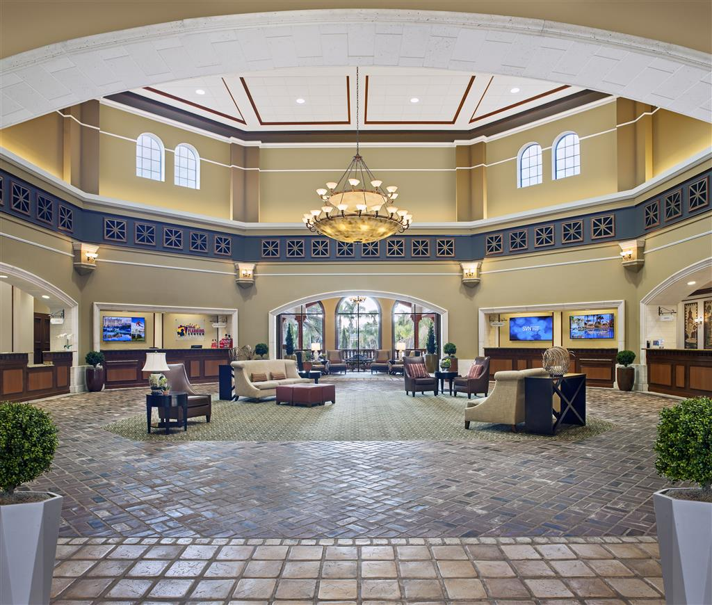 Sheraton Vistana Villages Lobby. Click on thumbnail for more information about this asset.