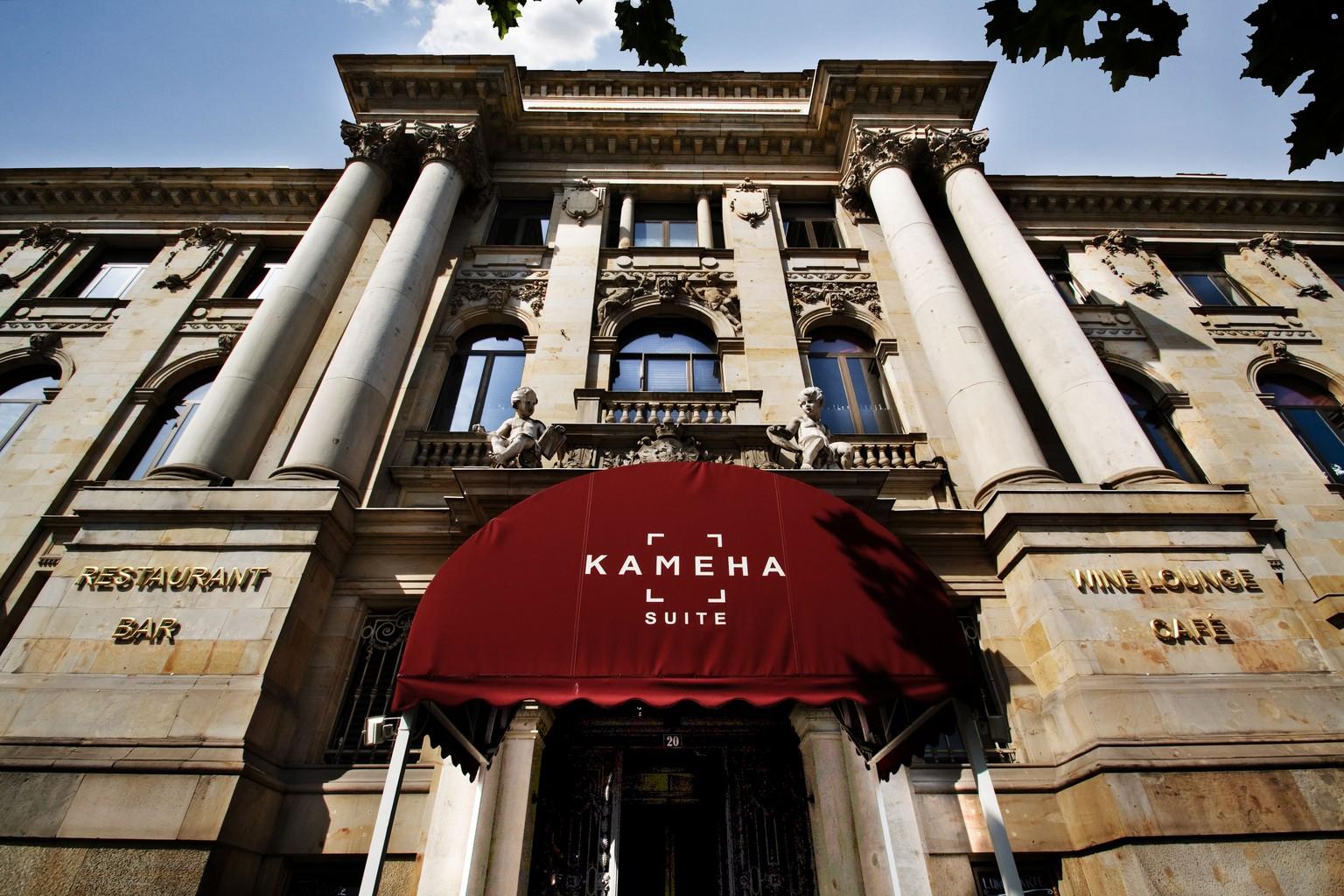 Eingang Kameha Suite