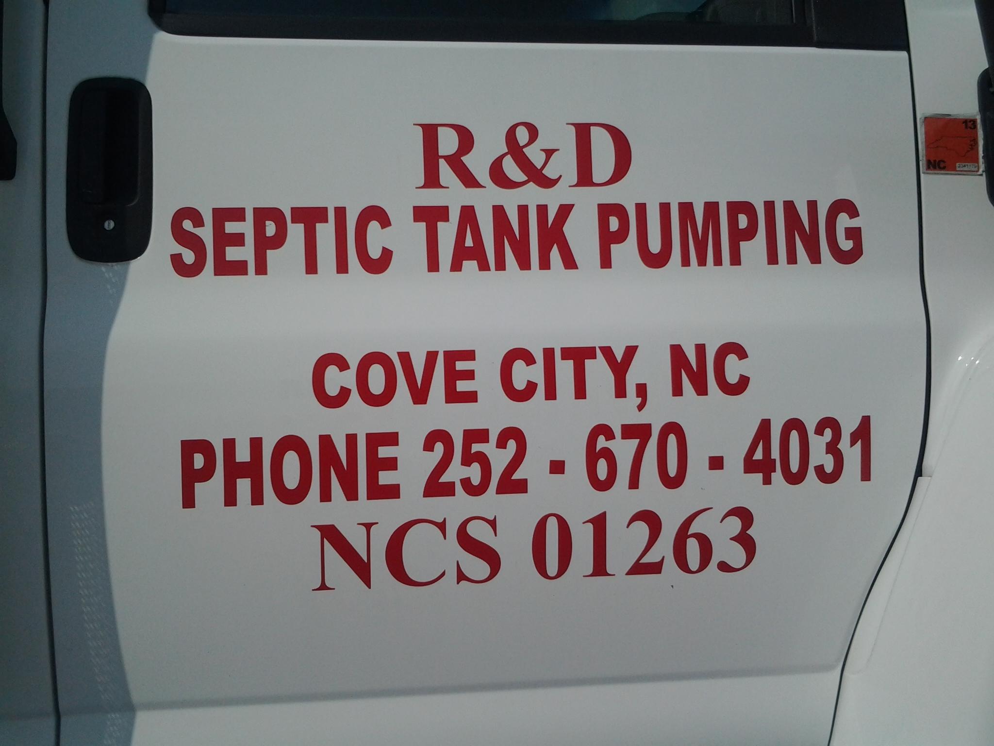 R & D Septic Tank Pumping image 0