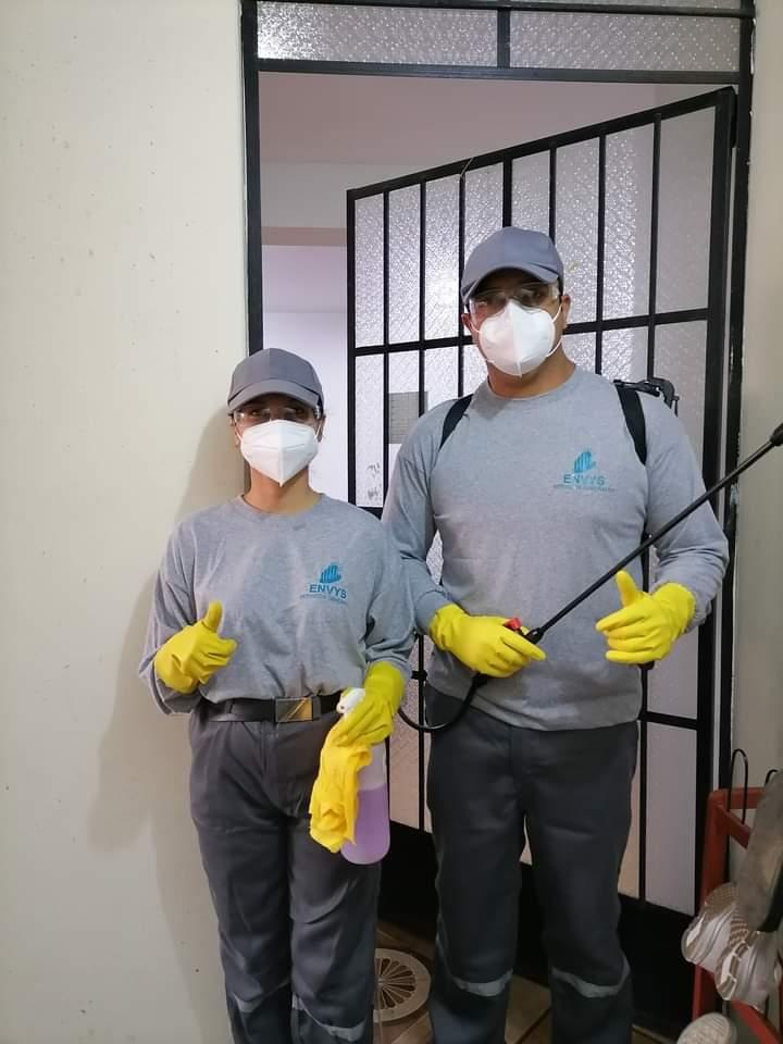 ENVYS SERVICIOS DE LIMPIEZA Y FUMIGACION