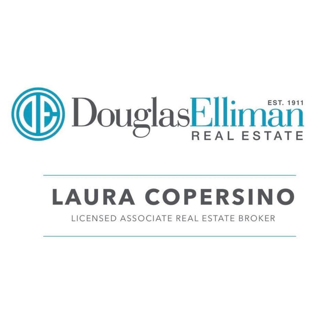 Laura Copersino, Licensed Associate Broker at Douglas Elliman Real Estate