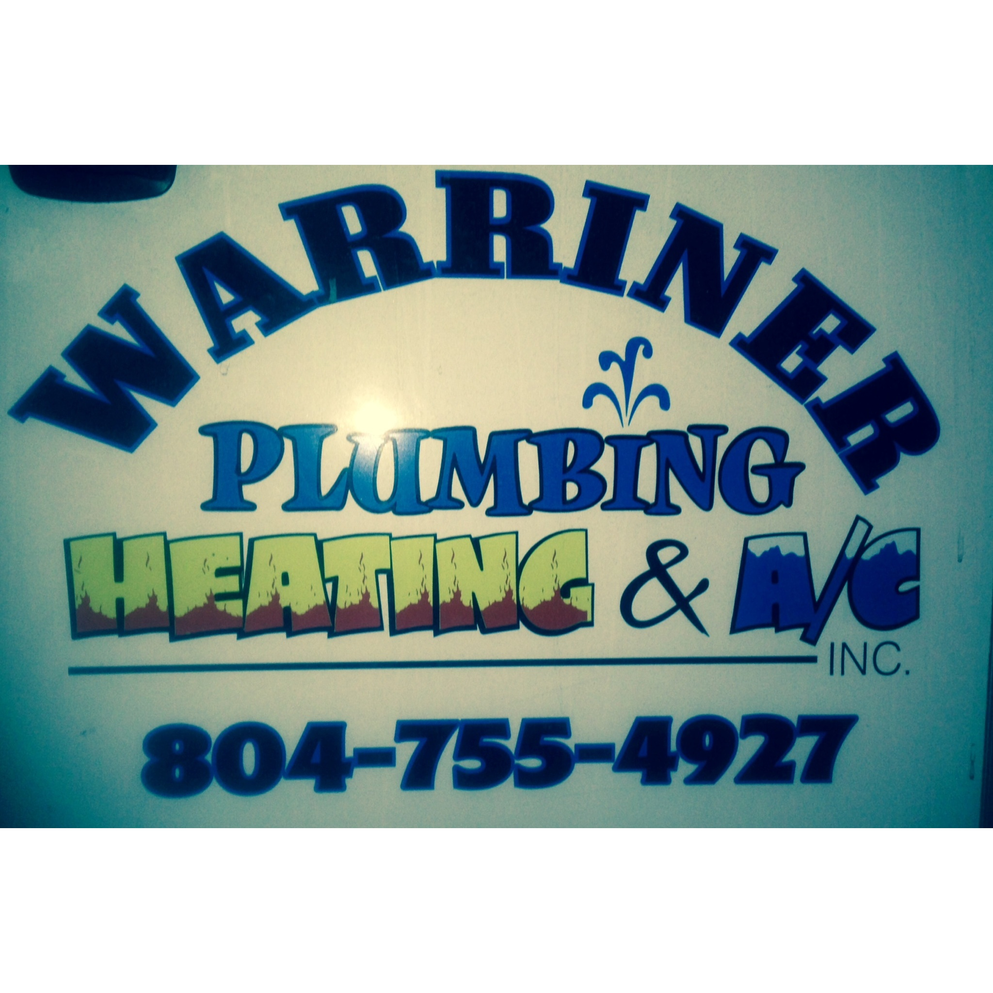 Warriner Plumbing, Heating & Air Conditioning, Inc,